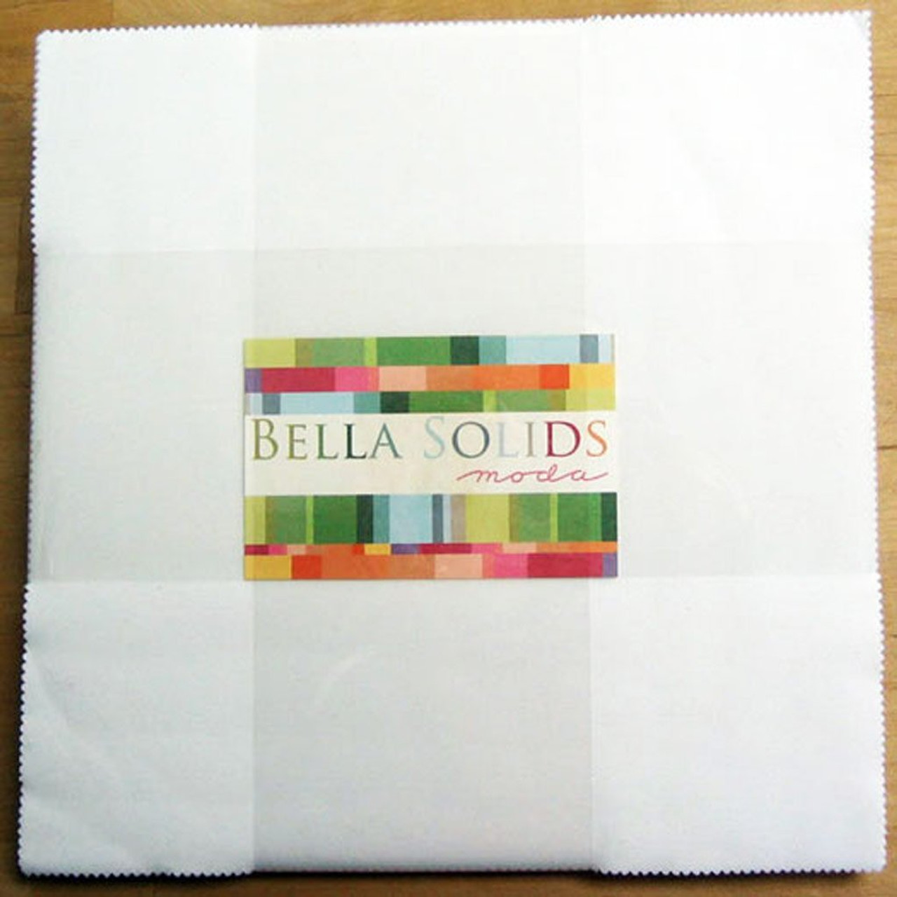 Bella Solids Black Junior Layer Cake 20 10-inch Squares Moda Fabrics 9900JLC 99
