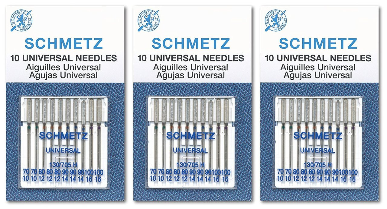 Schmetz Sewing Needles Jeans//Denim 130//705H-J Size 80//12 5 Needles//Pack