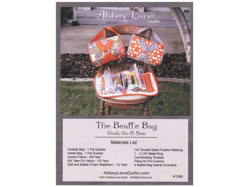 Abbey Lane Quilts ABL186 The Beatle Bag with Inserts Pattern