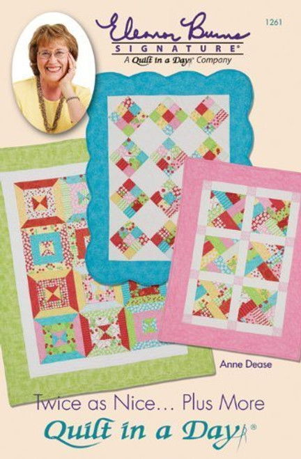 (USA Warehouse) Quilt In A Day-Twice As Nice...Plus More / Item Height: 11.04. Item Width: 8.53. Item Depth: 0.29. .