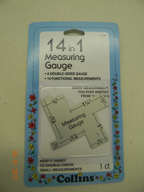 14 in 1 Measuring Gauge