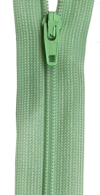 """YKK Beulon Polyester Coil Zipper, 9"""", Mint"""