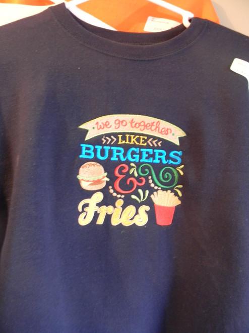 Childrens burgers sweatshirt