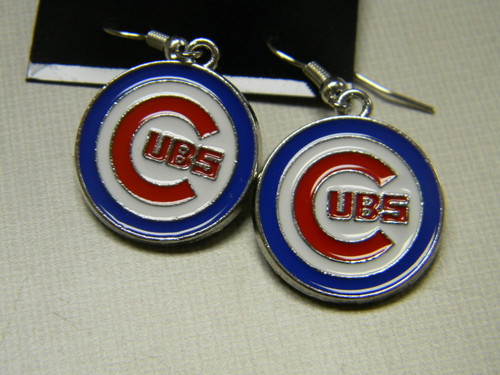 Cubs earrings