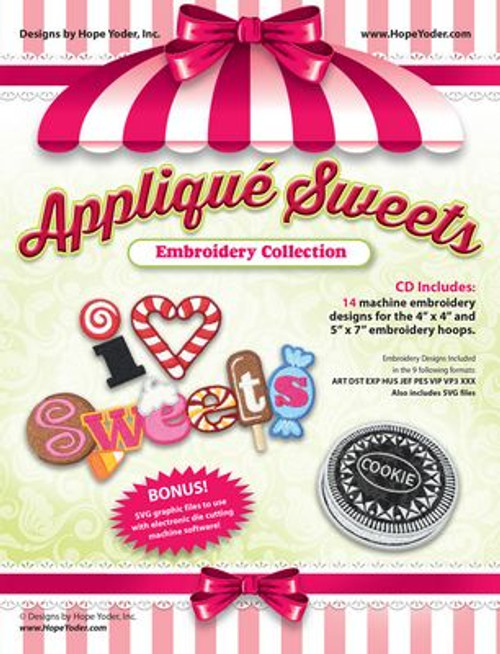 Applique sweets