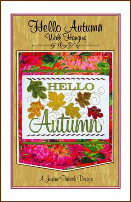 Hello Autumn Wall Hanging