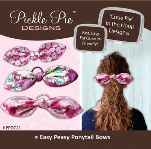 Easy Peasy Ponytail Bows