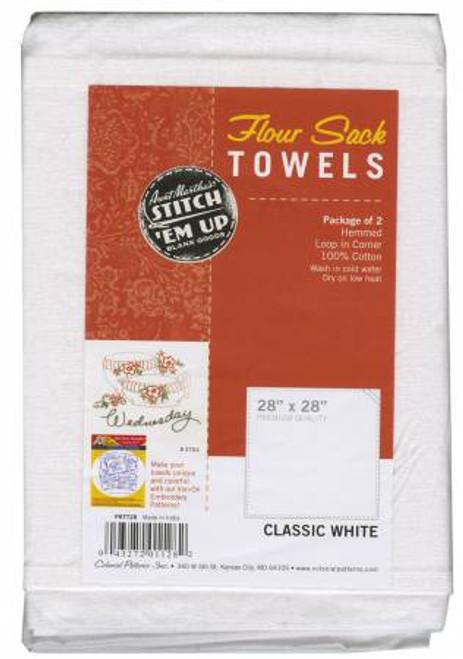 Aunt Martha's Flour Sack Towels