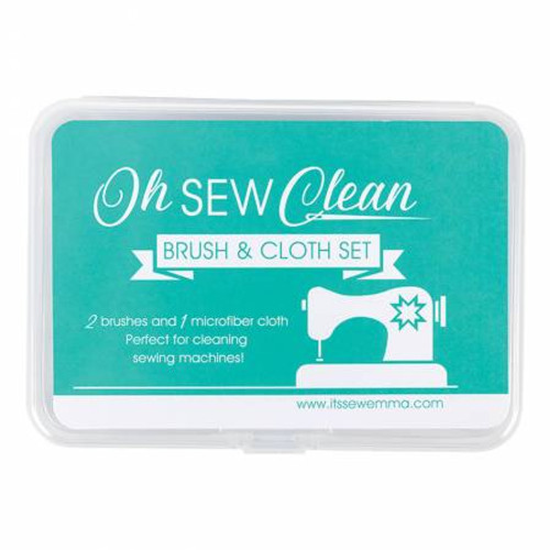 Oh Sew Clean Brush and Cloth