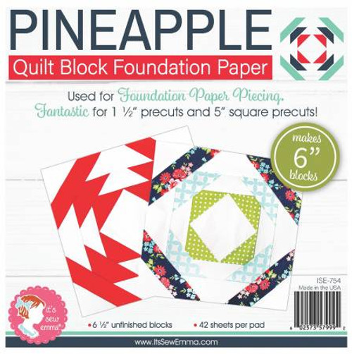 Pineapple Foundation Paper 6 inch