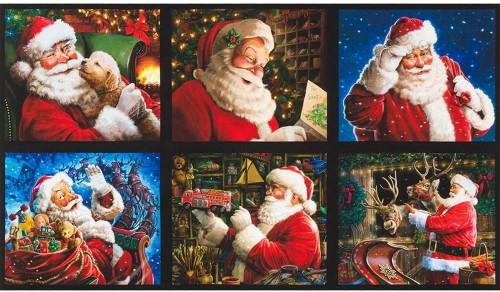 Holly Jolly Santa Panel