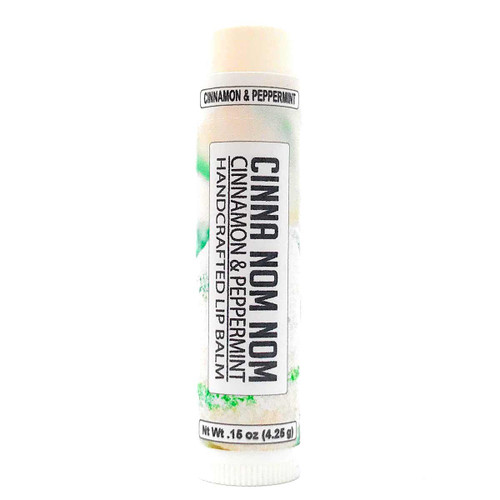 Lip Balm - Cinnamon Peppermint flavor in .15 oz tube