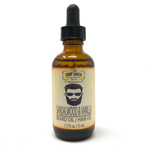 Sandalwood Vanilla Beard Oil - 1.73 fl. oz.