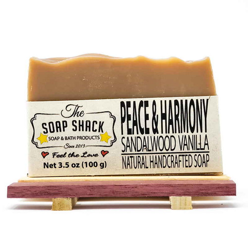 Sandalwood Vanilla Handmade Soap Bar