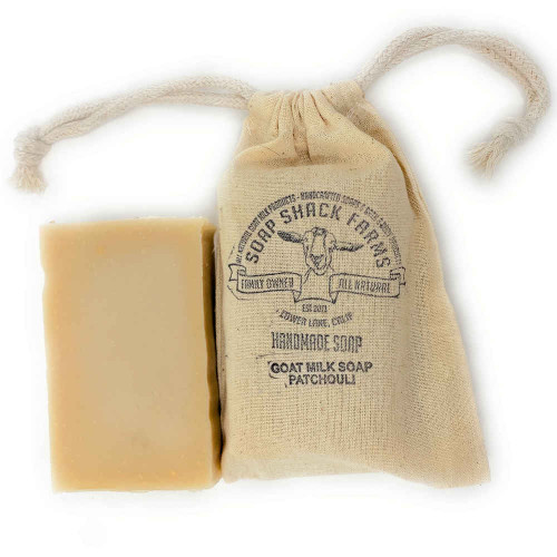 Patchouli Goat Milk Soap Bar - The Soap Shack