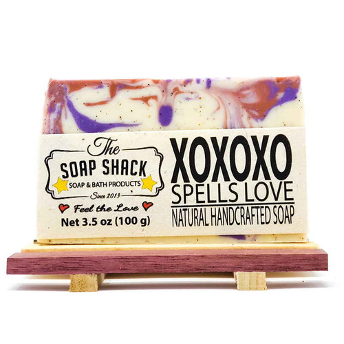 Love Spell Soap Bar. Made by The Soap Shack