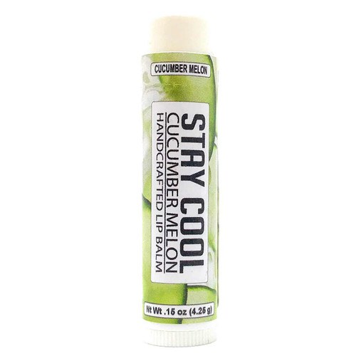 Lip Balm - Cucumber Melon flavor in .15 oz tube