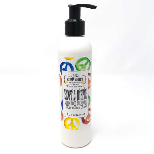 Lotion Sandalwood Patchouli 8 oz pump