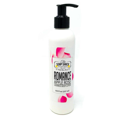 Lotion Apple Rose 8 oz pump