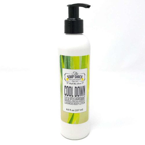 Lotion Eucalyptus Peppermint 8 oz pump