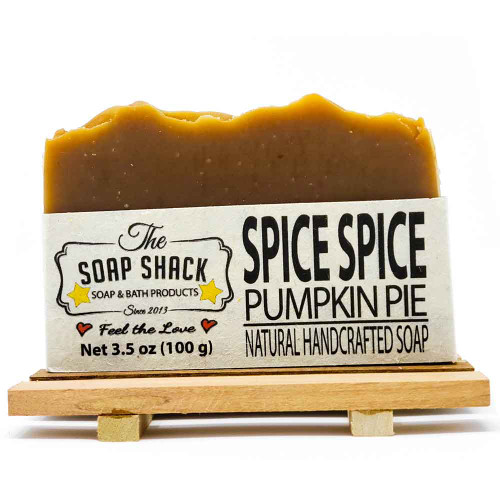 Pumpkin Pie Handmade Soap Bar