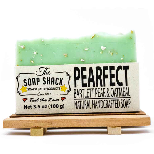 Pear and Oatmeal Soap