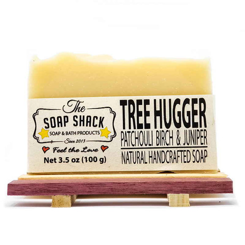 Patchouli Birch and Juniper Handmade Bar Soap