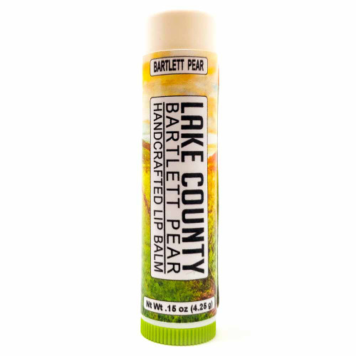 Lake County Bartlett Pear Lip Balm