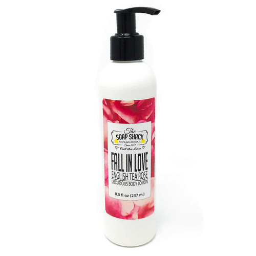 Lotion Tea Rose 8 oz pump