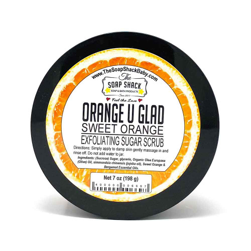 Sweet Orange Sugar Scrub 7oz