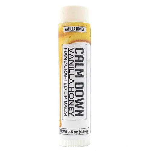 Lip Balm - Vanilla Honey flavor in .15 oz tube