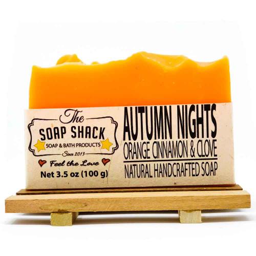 Orange Cinnamon Clove Handmade Soap Bar