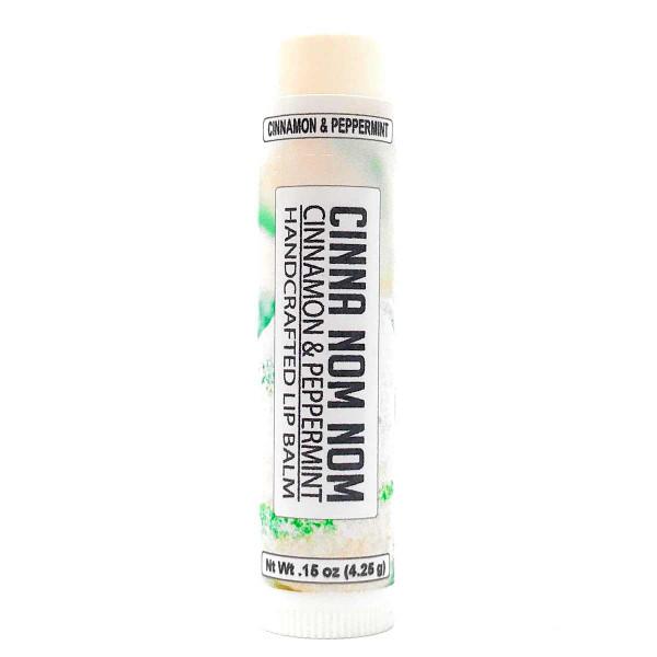 Lip Balm - Cinnamon Peppermint flavor in .15 oz tube