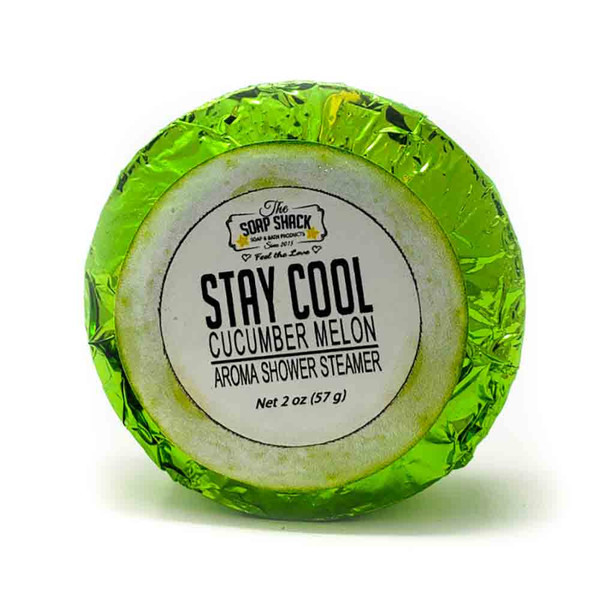 Cucumber Melon scented shower fizzy