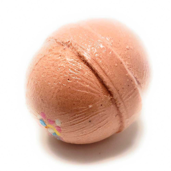 Bath Bomb Celebration Birthday cake scent 3 oz round