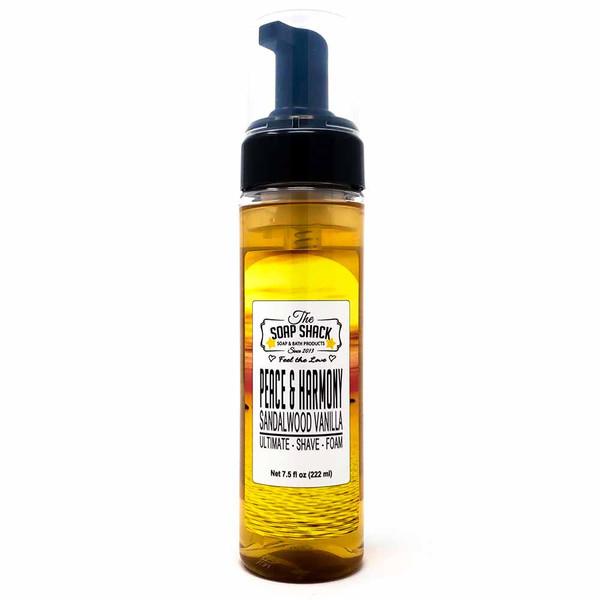 Sandalwood Vanilla Foaming shave soap