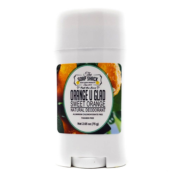 Sweet Orange Natural Deodorant. By The Soap Shack $9.95 2.65 oz / 75 grams