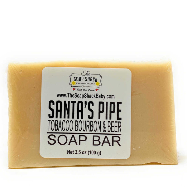 Tabacco Bourbon & Beer Soap Bar by The Soap Shack