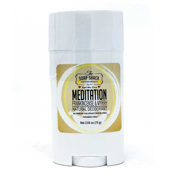 Frankincense & Myrrh - Natural Deodorant