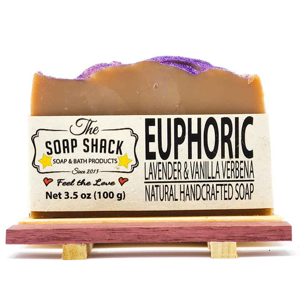 Lavender Vanilla Soap Br. Made by The Soap Shack
