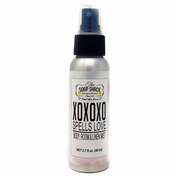 XOXOXO Spells Love Body Mist