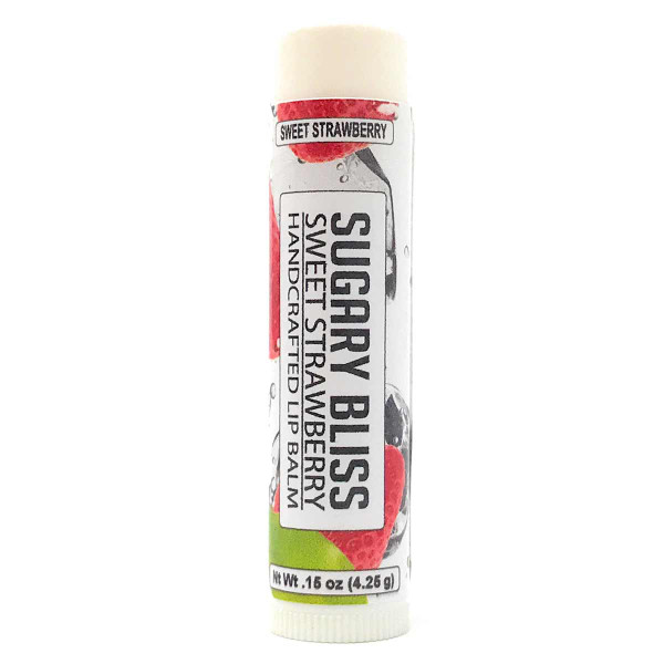 Lip Balm - Sugared Strawberry flavor 0.15 oz tube