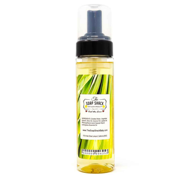 Handmade Foaming Soap - Lemongrass Back