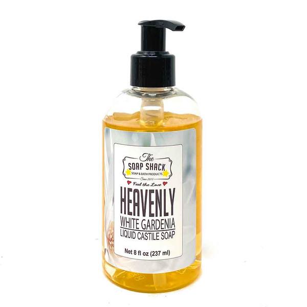 White Gardenia Liquid Soap