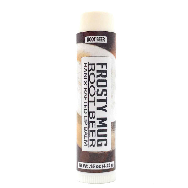 Lip Balm - Root Beer flavor in .15 oz tube