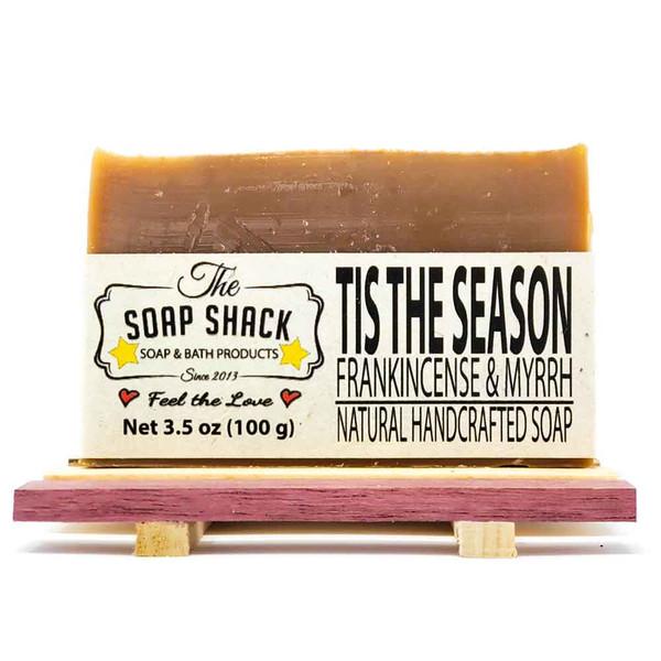 Frankincense and Myrrh Handmade Bar Soap
