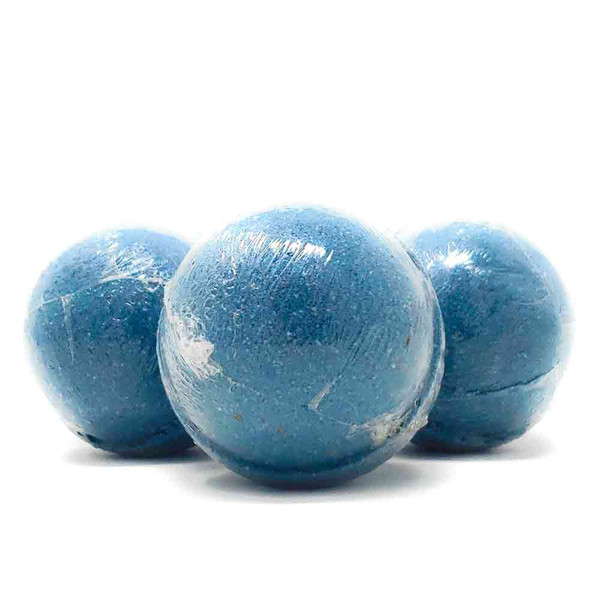 Blackberry Sage Scented Bath Bomb. Handmade by The Soap Shack