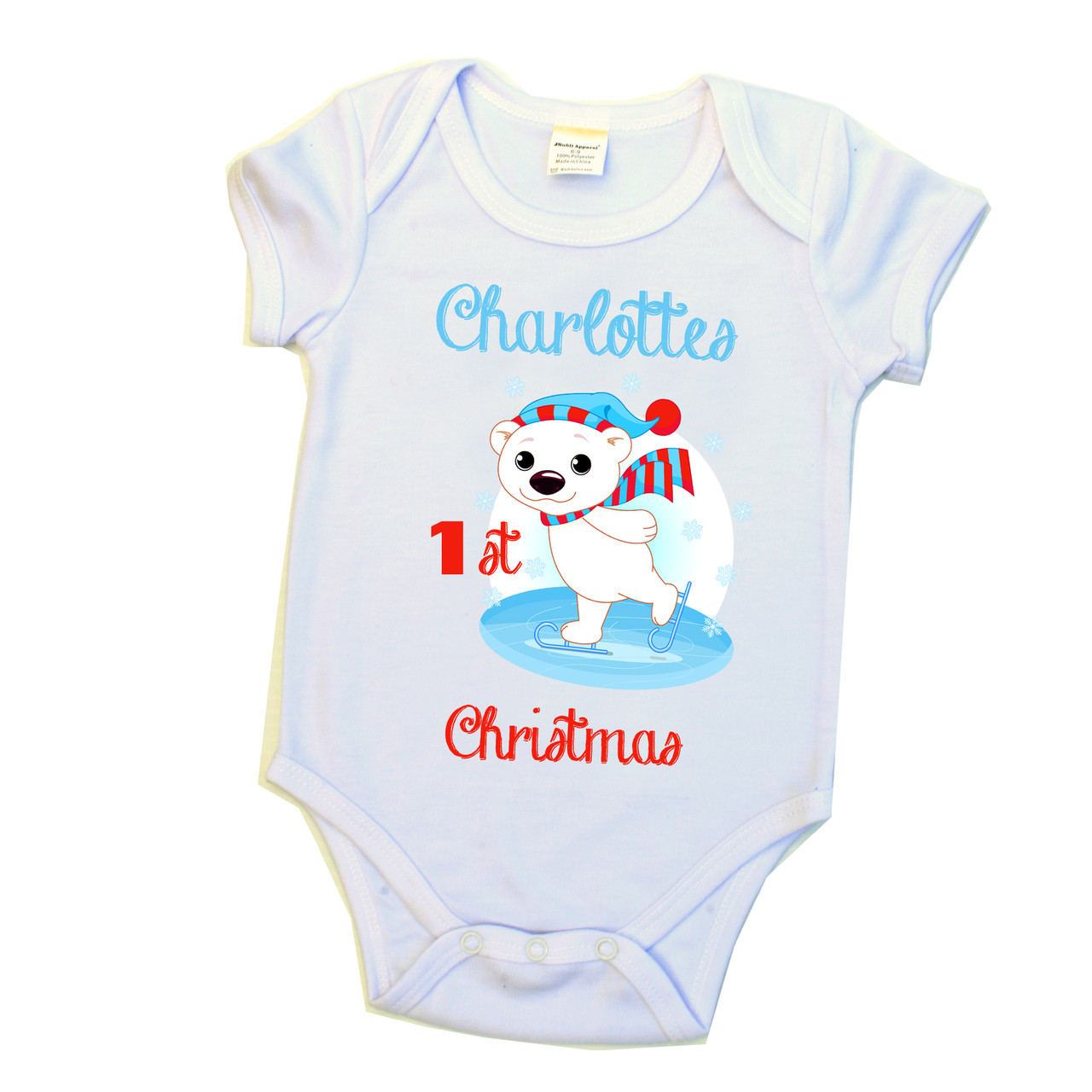 18e9bf1ec Customised Personalised Baby Onesie Outfit