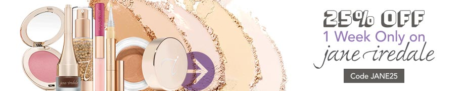 Jane Iredale 25% off