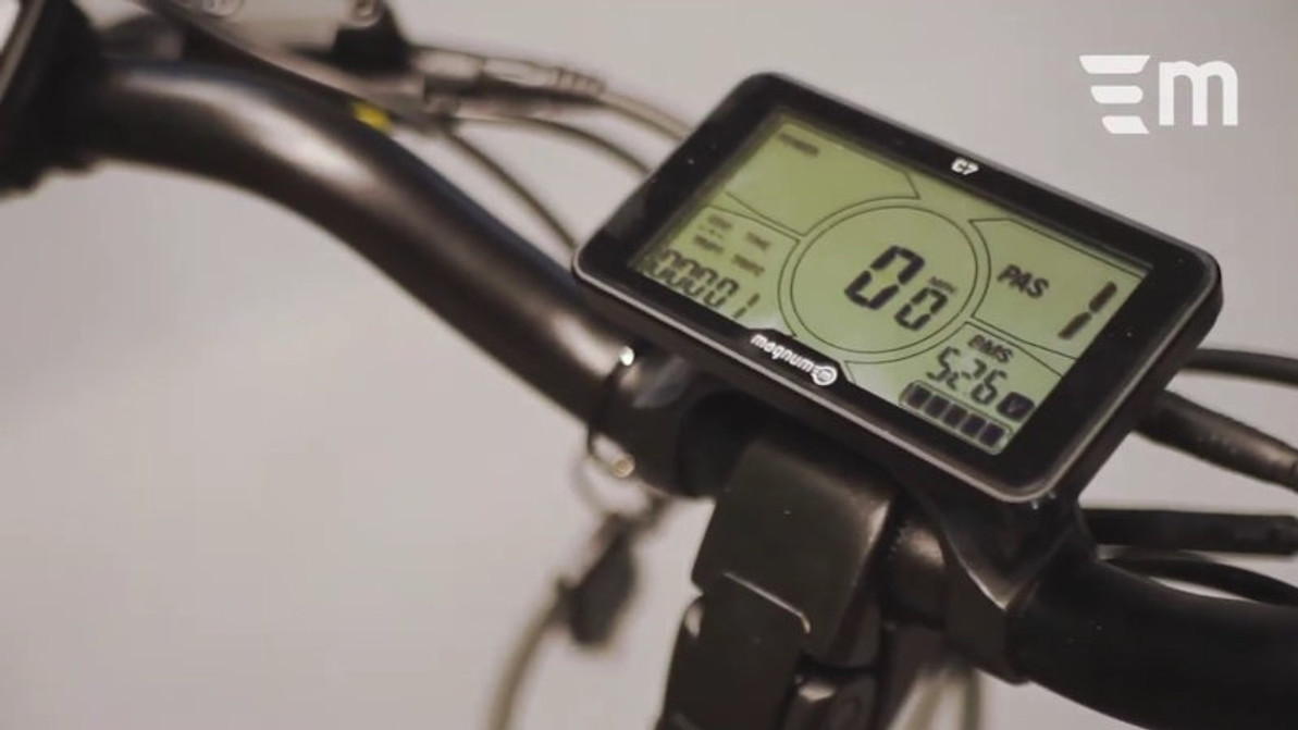Electric Bike Video: Magnum's Battery, Display, and Motor